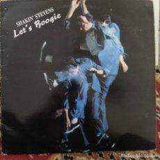 Discos de vinilo: SHAKIN' STEVENS - LET'S BOOGIE (LP, ALBUM) (1987/UK). Lote 253610600