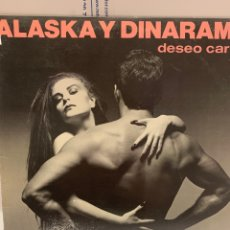 Disques de vinyle: VIN1105 ALASKA Y DINARAMA DESEO CARNAL VINILO SEGUNDA MANO. Lote 253612285