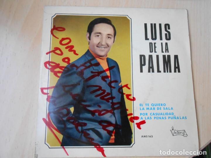 LUIS DE LA PALMA, EP, EL TE QUIERO + 3, AÑO 1970 (Música - Discos de Vinilo - EPs - Solistas Españoles de los 70 a la actualidad)