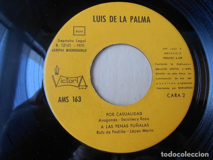 Discos de vinilo: LUIS DE LA PALMA, EP, EL TE QUIERO + 3, AÑO 1970 - Foto 4 - 253612805