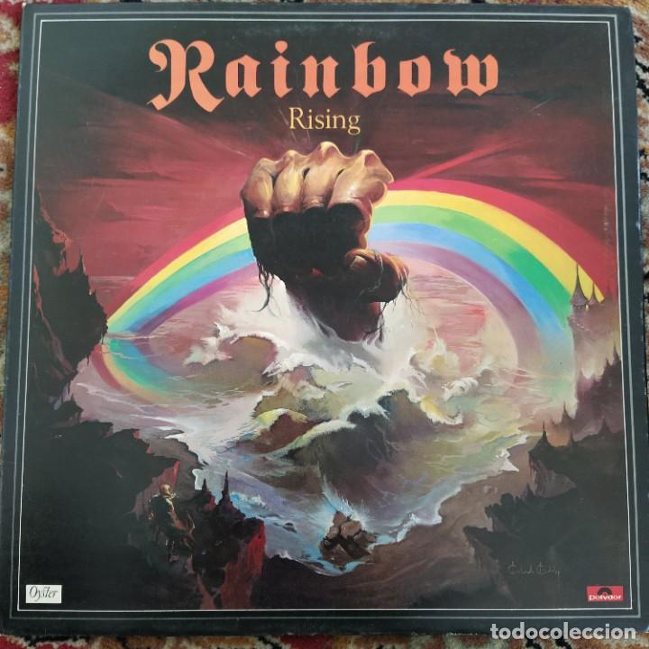 RAINBOW - RISING (LP, ALBUM) (1976/UK) (Música - Discos - LP Vinilo - Heavy - Metal)