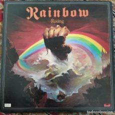Discos de vinilo: RAINBOW - RISING (LP, ALBUM) (1976/UK). Lote 253616375