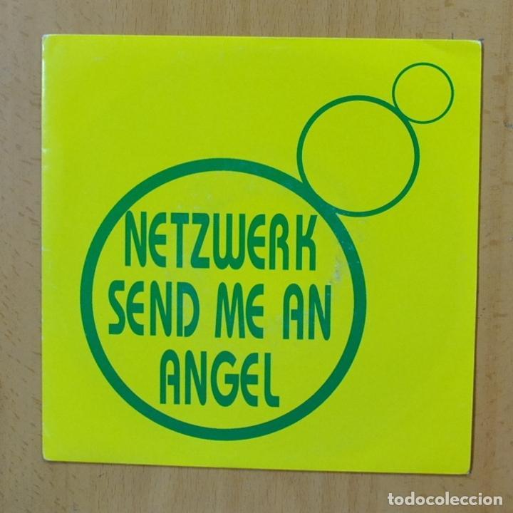 NETZWERK - SEND ME AN ANGEL - SINGLE (Música - Discos - Singles Vinilo - Electrónica, Avantgarde y Experimental)