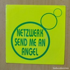 Disques de vinyle: NETZWERK - SEND ME AN ANGEL - SINGLE. Lote 253622010