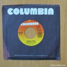 Discos de vinilo: JOHNNY CASH - I´M LEAVING NOW - SINGLE. Lote 253622440