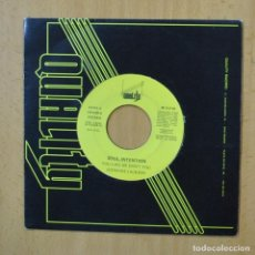 Discos de vinilo: SOUL INTENTION - YOU LIKE ME DON´T YOU - SINGLE. Lote 253622540
