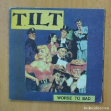 Discos de vinilo: TILT - WORSE TO BAD - GATEFOLD - SINGLE. Lote 253622705