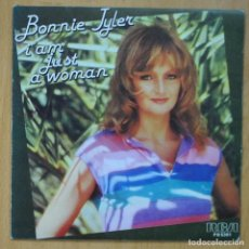 Discos de vinilo: BONNIE TYLER - I'AM JUST A WOMAN / GET OUT OF MY HEAD - SINGLE. Lote 253623020