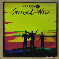 Discos de vinilo: HEAVEN 17 - SUNSET NOW / COUNTERFORCE - SINGLE. Lote 253623295