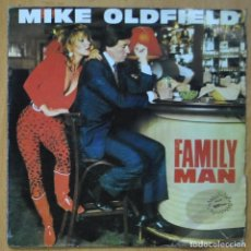 Disques de vinyle: MIKE OLDFIELD - FAMILY MAN / MOUNT TEIDE - SINGLE. Lote 253624020