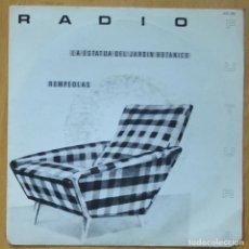 Disques de vinyle: RADIO FUTURA - LA ESTATUA DEL JARDIN BOTANICO / ROMPEOLAS - SINGLE. Lote 253624265