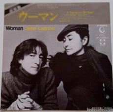 Discos de vinilo: JOHN LENNON - WOMAN / BEAUTIFUL BOYS JAPAN,1981 GEFFEN RECORDS. Lote 253634170