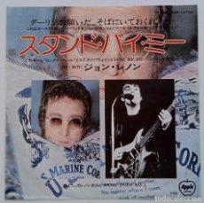 Discos de vinilo: JOHN LENNON - STAND BY ME / MOVE OVER MS. L. JAPAN,1975 APPLE RECORDS. Lote 253635555