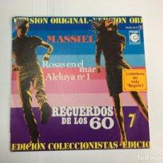 Discos de vinilo: MASSIEL - RECUERDOS DE LOS 60 - ROSAS EN EL MAR / ALELUYA Nº 1 - SINGLE. Lote 253635945