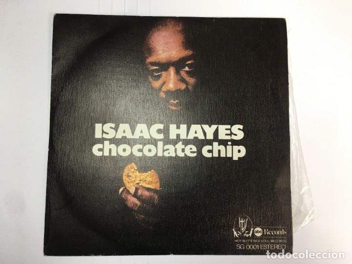 ISAAC HAYES - CHOCOLATE CHIP / IDEM INSTRUMENTAL - SINGLE (Música - Discos - Singles Vinilo - Jazz, Jazz-Rock, Blues y R&B)