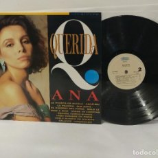 Discos de vinilo: ANA BELÉN QUERIDA LP 1992. Lote 253640380