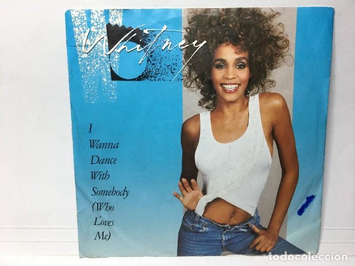 WHITNEY HOUSTON - I WANNA DANCE WITH SOMEBODY / MOMENT OF TRUTH - SINGLE (Música - Discos - Singles Vinilo - Jazz, Jazz-Rock, Blues y R&B)