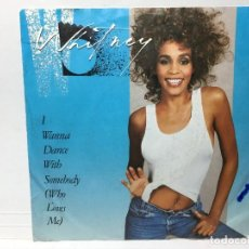 Discos de vinilo: WHITNEY HOUSTON - I WANNA DANCE WITH SOMEBODY / MOMENT OF TRUTH - SINGLE. Lote 253641100