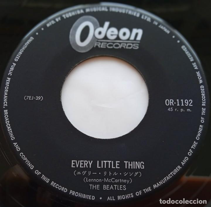 Discos de vinilo: Te Beatles - Rock And Roll Music / Every Little Thing Japan,1965. Odeon - Foto 6 - 253642550
