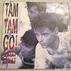 Discos de vinilo: TAM TAM GO! - ESPALDAS MOJADAS - LP 1990 EMI 076 7958311. 10 CANCIONES. Lote 253643465