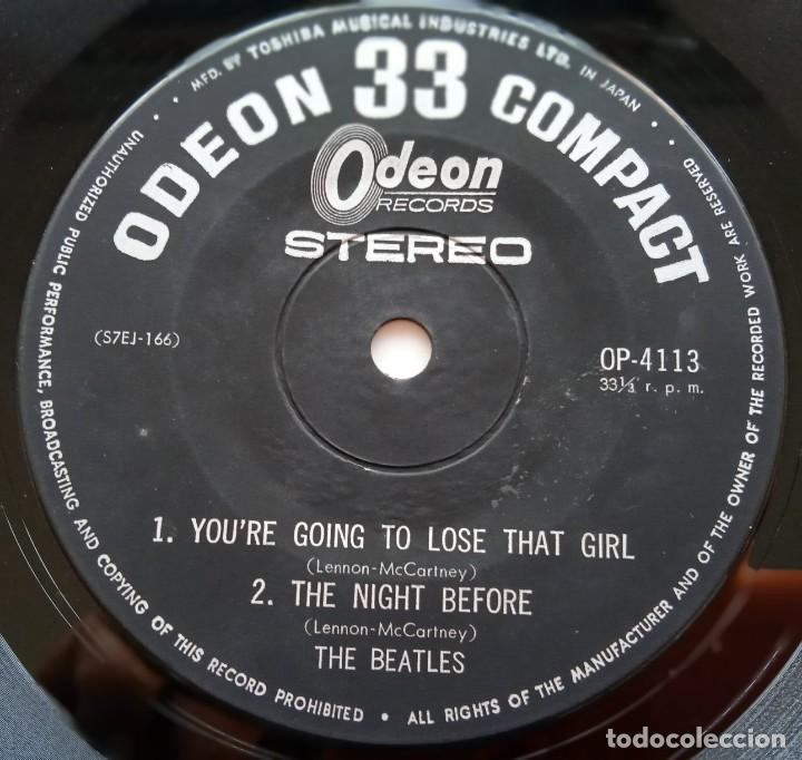 Discos de vinilo: The Beatles - Youre Going To Lose That Girl Japan,1966 Odeon - Foto 4 - 253644520