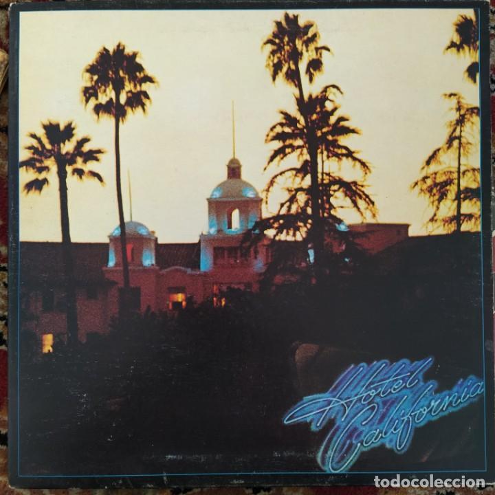 EAGLES - HOTEL CALIFORNIA (LP, ALBUM) (1976/UK) (Música - Discos - LP Vinilo - Pop - Rock - Internacional de los 70)