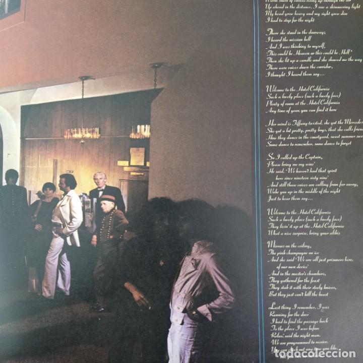 Discos de vinilo: Eagles - Hotel California (LP, Album) (1976/UK) - Foto 2 - 253648355