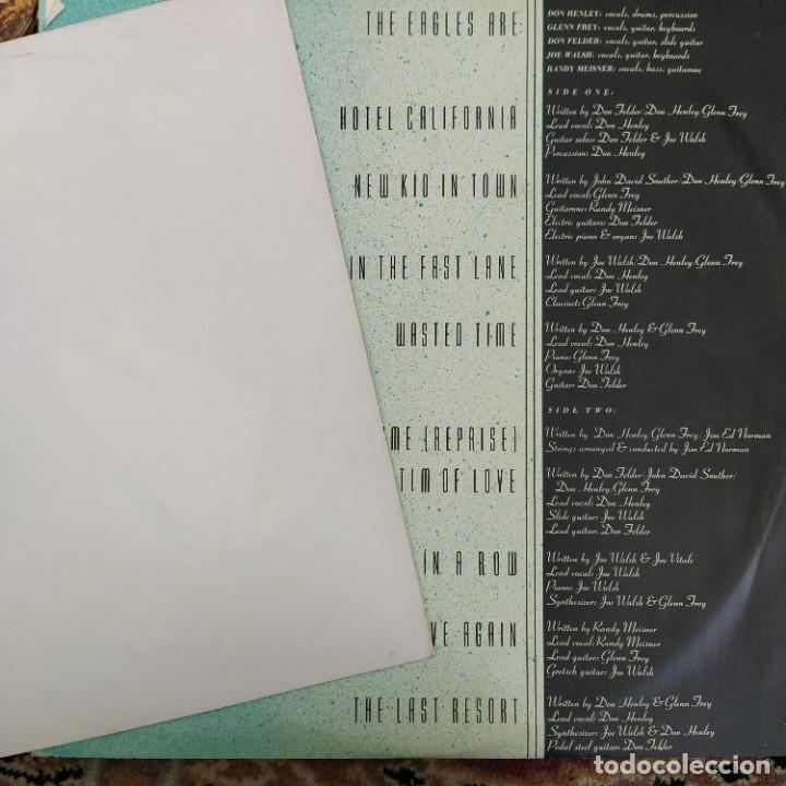Discos de vinilo: Eagles - Hotel California (LP, Album) (1976/UK) - Foto 3 - 253648355