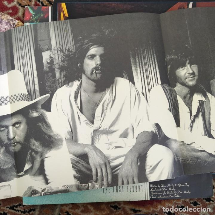 Discos de vinilo: Eagles - Hotel California (LP, Album) (1976/UK) - Foto 4 - 253648355