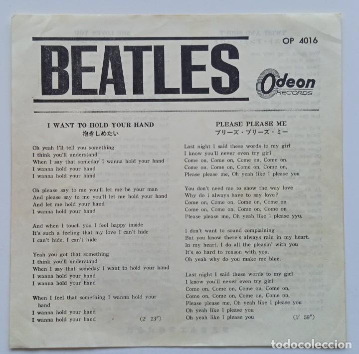 Discos de vinilo: The Beatles - Twist And Shout Vinyl Rojo Japan,1964 Odeon - Foto 3 - 253649210