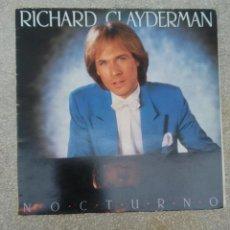 Discos de vinilo: DISCO DE VINILO RICHARD CLAYDERMAN NOCTURNO DELPHINE. Lote 253650135