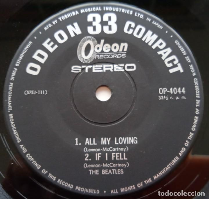 Discos de vinilo: The Beatles - All My Loving Japan,1965 Odeón - Foto 4 - 253651655