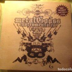 Discos de vinilo: DAVID BUSQUETA METAL GODSS INSTRUMENTALES II. Lote 253667870
