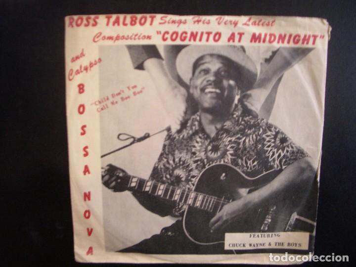 ROSS TALBOT- COGNITO AT MIDNIGHT. SINGLE. (Música - Discos - Singles Vinilo - Étnicas y Músicas del Mundo)