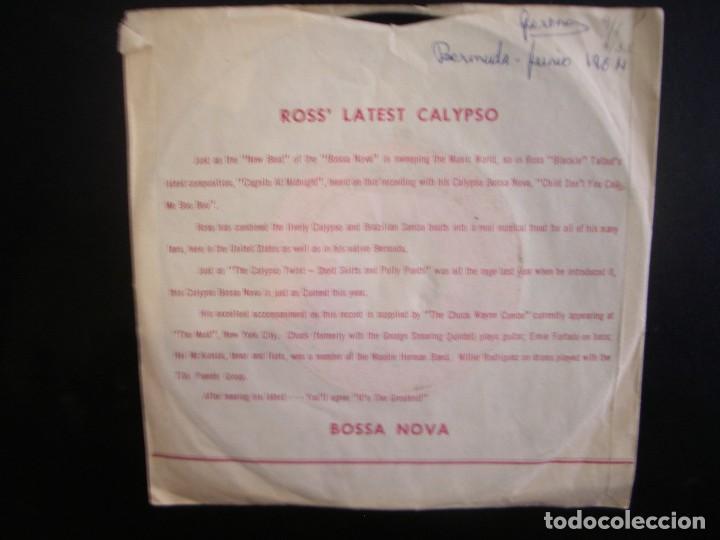 Discos de vinilo: ROSS TALBOT- COGNITO AT MIDNIGHT. SINGLE. - Foto 2 - 253671555
