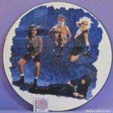 Discos de vinilo: MÖTLEY CRÜE - HOME SWEET HOME '91 REMIX - MAXI 12' PICTURE DISC. Lote 253684555