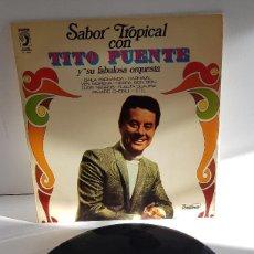 Discos de vinilo: TITO PUENTE SABOR TROPICAL. Lote 253685150