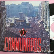 Discos de vinil: COMMUNARDS - T.M.T.L.T.B.M.G. - 886 282-7 - SPAIN PRESS PROMO. Lote 253687815