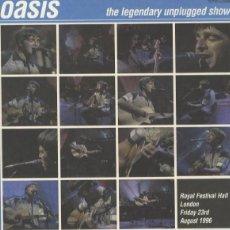 Discos de vinilo: OASIS – THE LEGENDARY UNPLUGGED SHOW -LP-. Lote 253689780