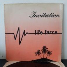 Discos de vinilo: LIFE FORCE. INVITATION. 1984. SPAIN. S1. Lote 253696240