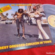 Disques de vinyle: DR.ALIMANTADO BEST DRESSED CHICKEN IN TOWN LP 1980 ISDA ESPAÑA SPAIN. Lote 253702095