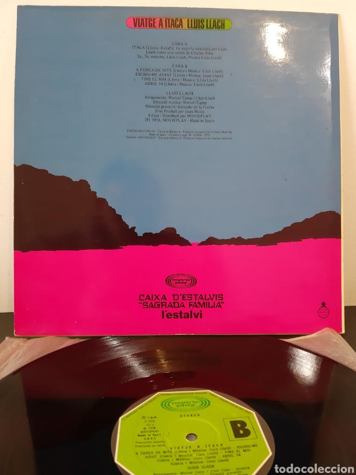 Discos de vinilo: LLUIS LLACH. VIATJE A ITACA. 1976. ESP - Foto 2 - 253710135