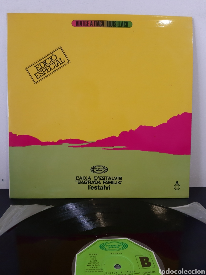 LLUIS LLACH. VIATJE A ITACA. 1976. ESP (Música - Discos - LP Vinilo - Cantautores Españoles)