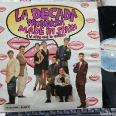 Discos de vinilo: LA DÉCADA PRODIGIOSA MAXI MADE IN SPAIN 1988. Lote 253714170