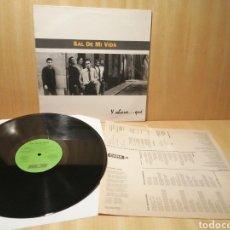 Discos de vinilo: SAL DE MI VIDA. Y AHORA QUE?. COLABORACIÓN DE C. ÁLVAREZ, POLANSKI, M. A. LOBATO, TRASTOS. AÑO 1993. Lote 253714925