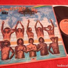 Disques de vinyle: THE CIMARONS MAKA LP 1978 POLYDOR ESPAÑA SPAIN EXCELENTE ESTADO REGGAE. Lote 253717330