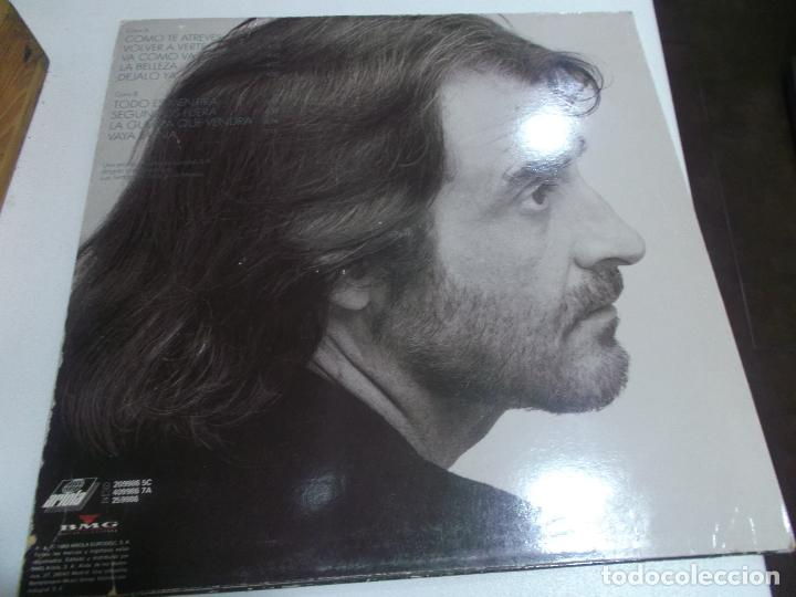 Discos de vinilo: LUIS EDUARDO AUTE - SEGUNDOS FUERA - ARIOLA 1989 - Foto 2 - 253728540