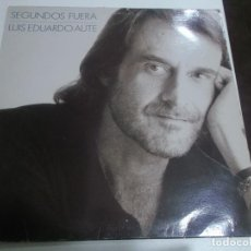 Discos de vinilo: LUIS EDUARDO AUTE - SEGUNDOS FUERA - ARIOLA 1989. Lote 253728540