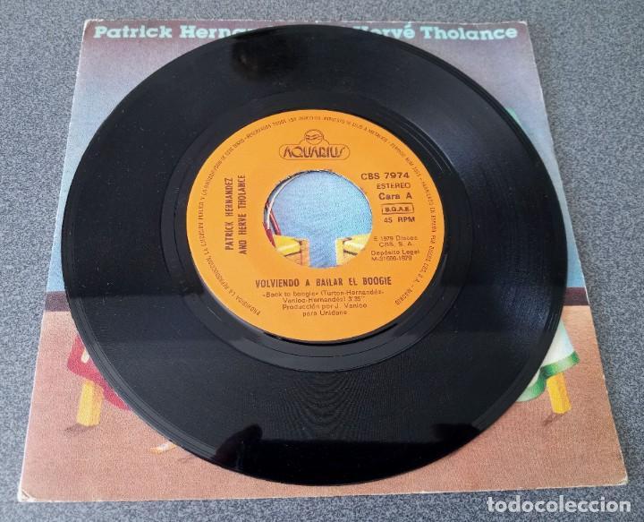 Discos de vinilo: Vinilo Ep Back to Boggie Patrick Hernandez Herve Tholance - Foto 3 - 253737305