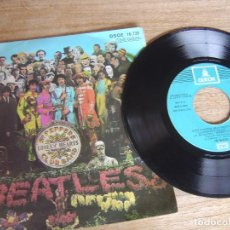 Disques de vinyle: THE BEATLES. SGT PEPERS CLUB BAND. DSOE 16.739. 1968. PROBADO.. Lote 253738630